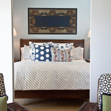 Eclectic Bedroom by Meredith Ellis Design