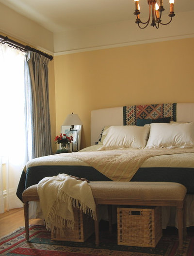 Eclectic Bedroom by Niche Interiors