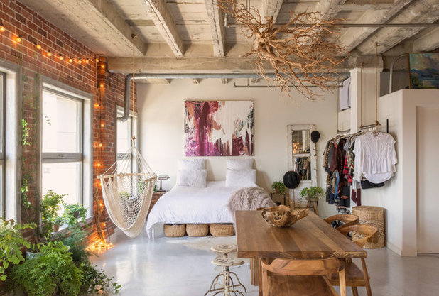 Eclectic Bedroom by Oh beauty Interiors