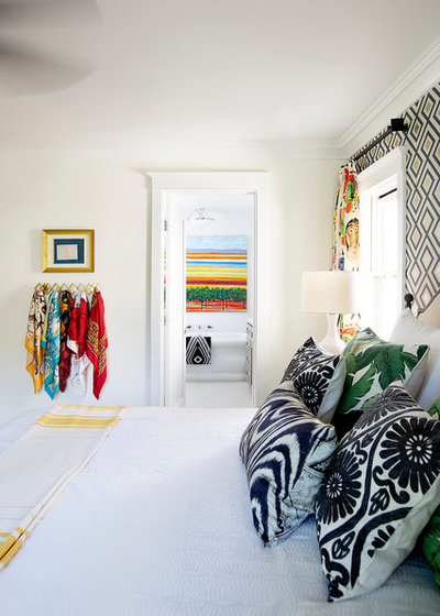 Eclectic Bedroom by PepperJack Interiors