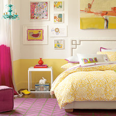 Eclectic Bedroom by Serena & Lily