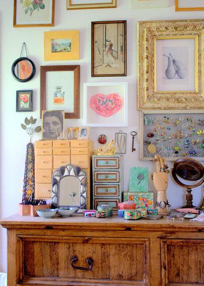 Стиль шебби-шик Спальня Eclectic Bedroom