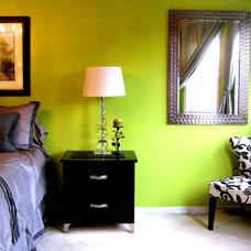 Eclectic Bedroom by TLC_Designs