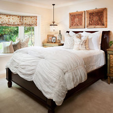 Eclectic Bedroom by Style On a Shoestring