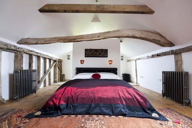 Farmhouse Bedroom by Adrienne Chinn Design