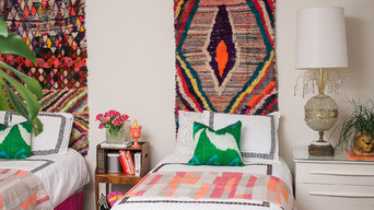 Eclectic Girls' Bedroom