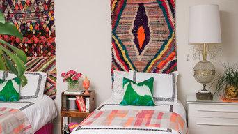 Eclectic Girls' Bedroom