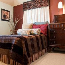 Eclectic Bedroom by True Interiors, LLC