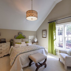 Eclectic Bedroom by Kerri Robusto Interiors