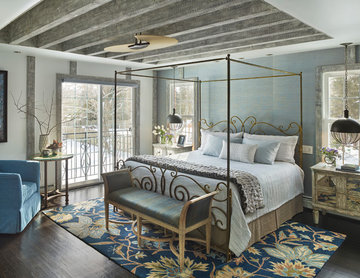 Eclectic Master Bedroom Renovation