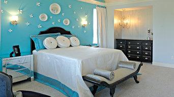 Eclectic, Mid-Century Modern, Romantic Bedroom