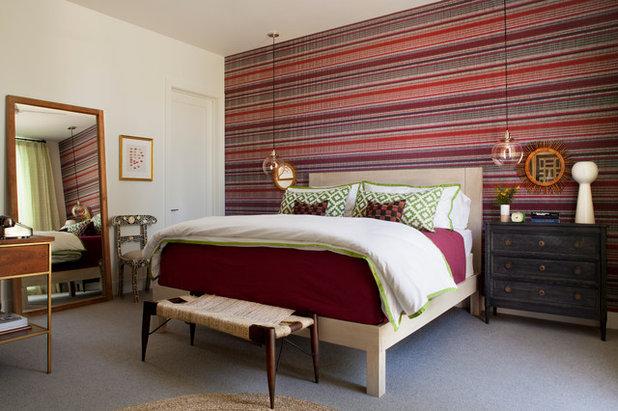Mid-Century Schlafzimmer by Brittany Stiles Design