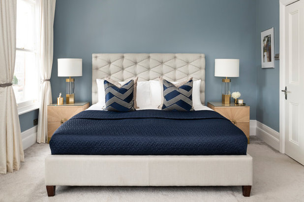Contemporary Bedroom by Yohan May Interiors