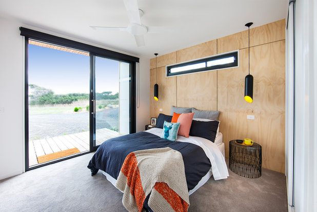 Contemporary Bedroom by Ecoliv Sustainable Buildings