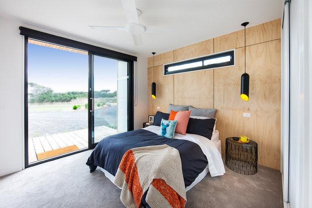 コンテンポラリー 寝室 by Ecoliv Sustainable Buildings