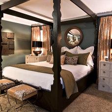 Traditional Bedroom by nicole facciuto design