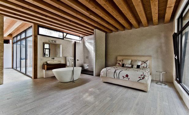 ラスティック 寝室 by Alexandre Parent