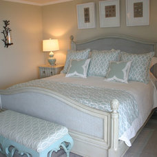 Beach Style Bedroom by Constance Crosby Interiors, Inc.