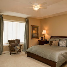 Traditional Bedroom by DURST & GANS BUILDING CORP