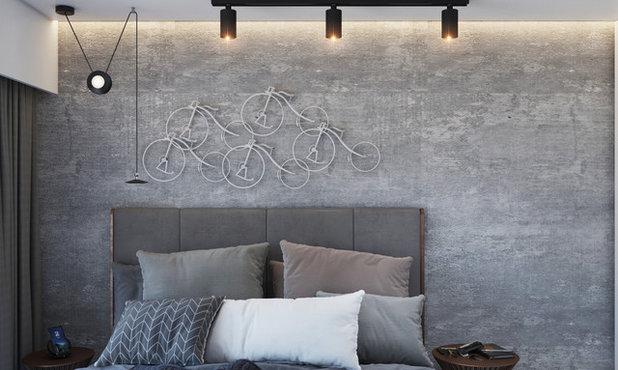 Scandinavian Bedroom by Urbane storey