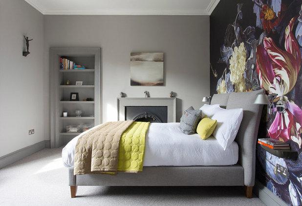 Transitional Bedroom by John Wilson Design