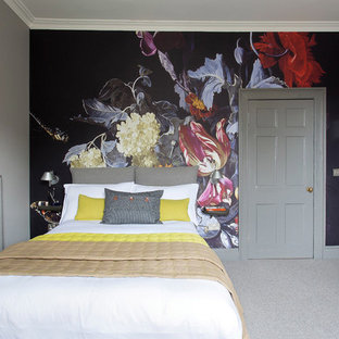 Design ideas for an eclectic bedroom in Edinburgh.