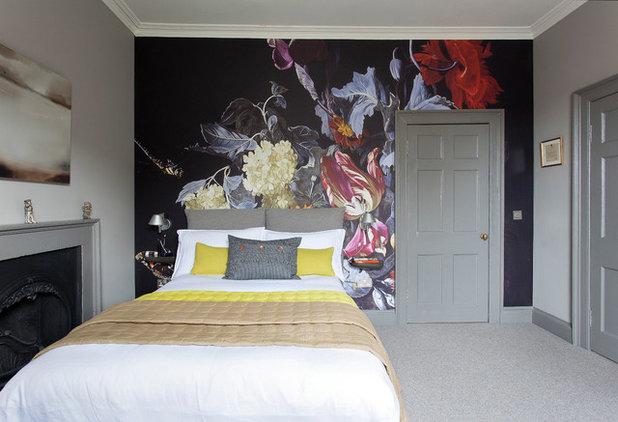 Eclectic Bedroom by John Wilson Design
