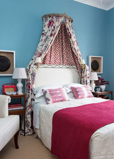 Bedroom by Jessica Buckley Interiors