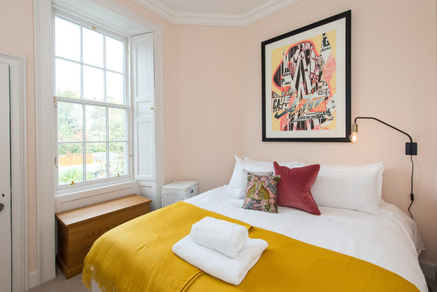 Transitional Bedroom by Lally Walford Interiors