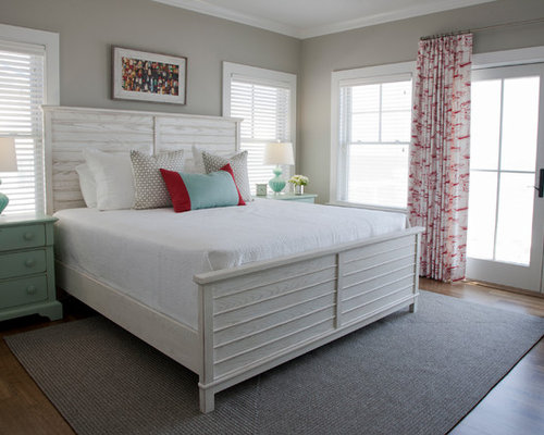 Whitewashed Bed Design Ideas Remodel Pictures Houzz