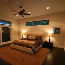 Modern Bedroom by John Lively & Associates