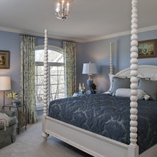 Traditional Bedroom by Edward Postiff Interiors