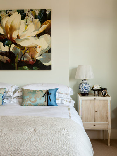 Traditional Bedroom by Hilary White Interiors