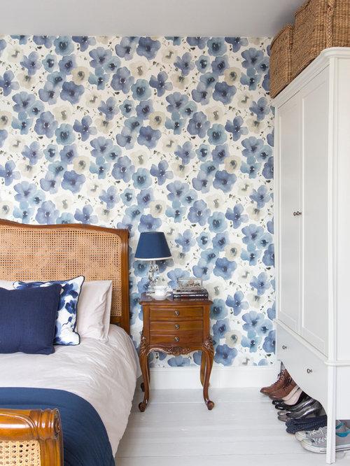 chambre victorienne avec un sol en bois peint photos et id es d co de chambres. Black Bedroom Furniture Sets. Home Design Ideas