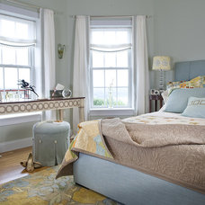 Eclectic Bedroom by Edwina Drummond Interiors