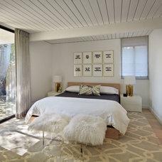 Midcentury Bedroom by Alison Damonte Design