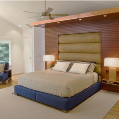 contemporary bedroom by Eisner Design LLC