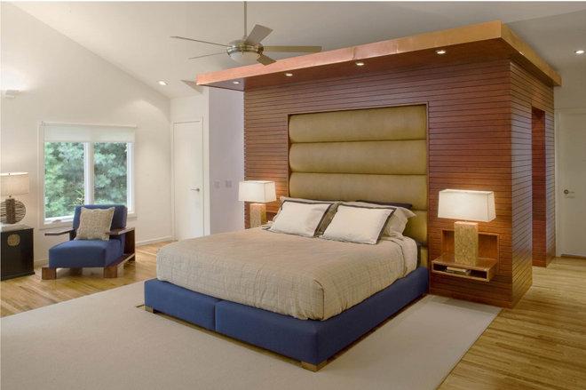 Contemporary Bedroom by Eisner Design LLC
