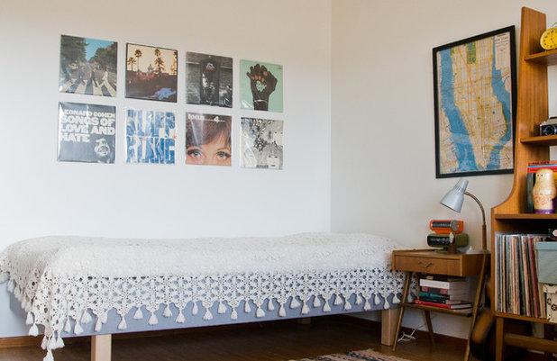 Retro Dormitorio Eklektisk Sovrum