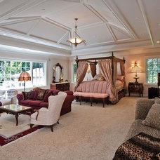 Mediterranean Bedroom by Dennis Mayer, Photographer