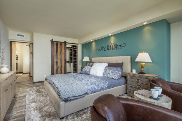 Beach Style Bedroom by East Village Design