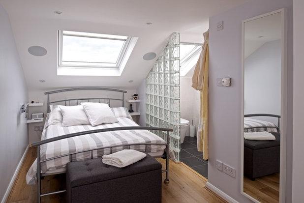 Contemporary Bedroom by Landmark Lofts