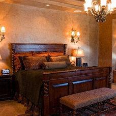 Traditional Bedroom by MAC Design Studio
