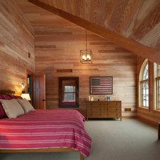 Rustic Bedroom by E. B. Mahoney Builders, Inc.