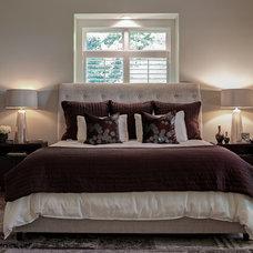 Contemporary Bedroom by Allard & Roberts Interior Design, Inc