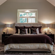 Traditional Bedroom by Allard & Roberts Interior Design, Inc