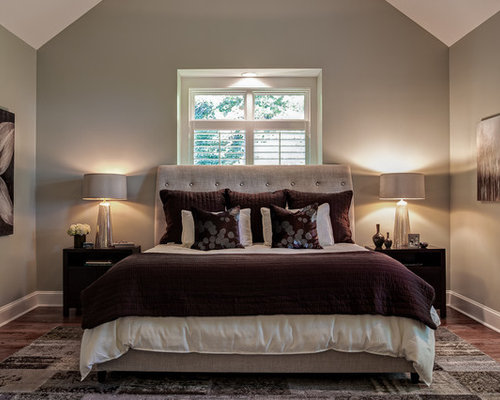 Plum bedding home design ideas pictures remodel and decor for Exclusive plum bedroom