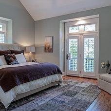 Traditional Bedroom by Allard & Roberts Interior Design, Inc