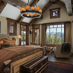 traditional bedroom by Teton Heritage Builders
