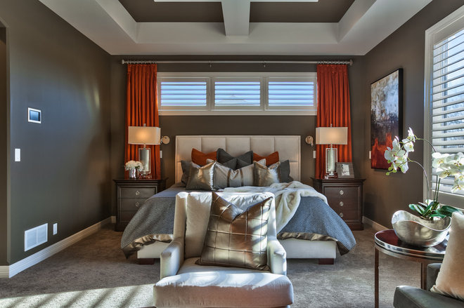 Transitional Bedroom by Falcone Hybner Design, Inc.
